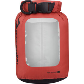 Sea to Summit View Bolsa seca, red